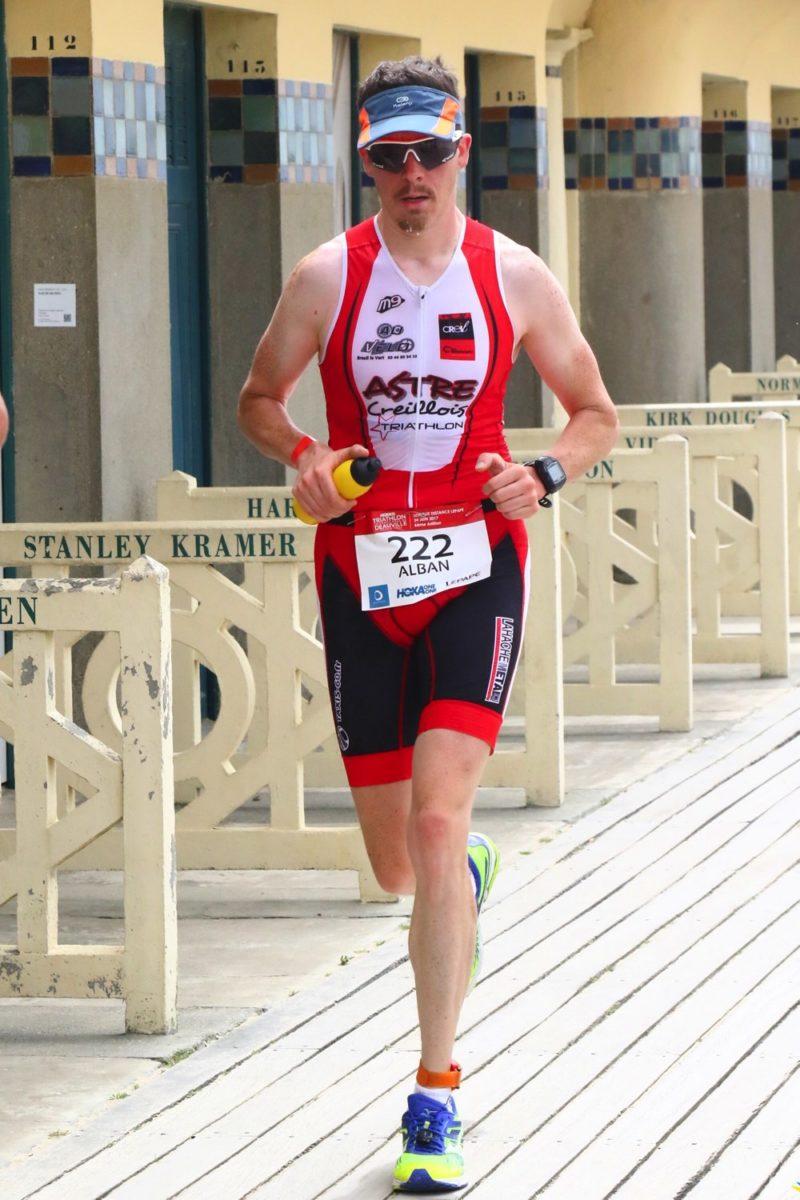 Alban sur le triathlon de Deauville