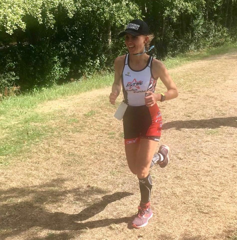 Marion, des airs au triathlon
