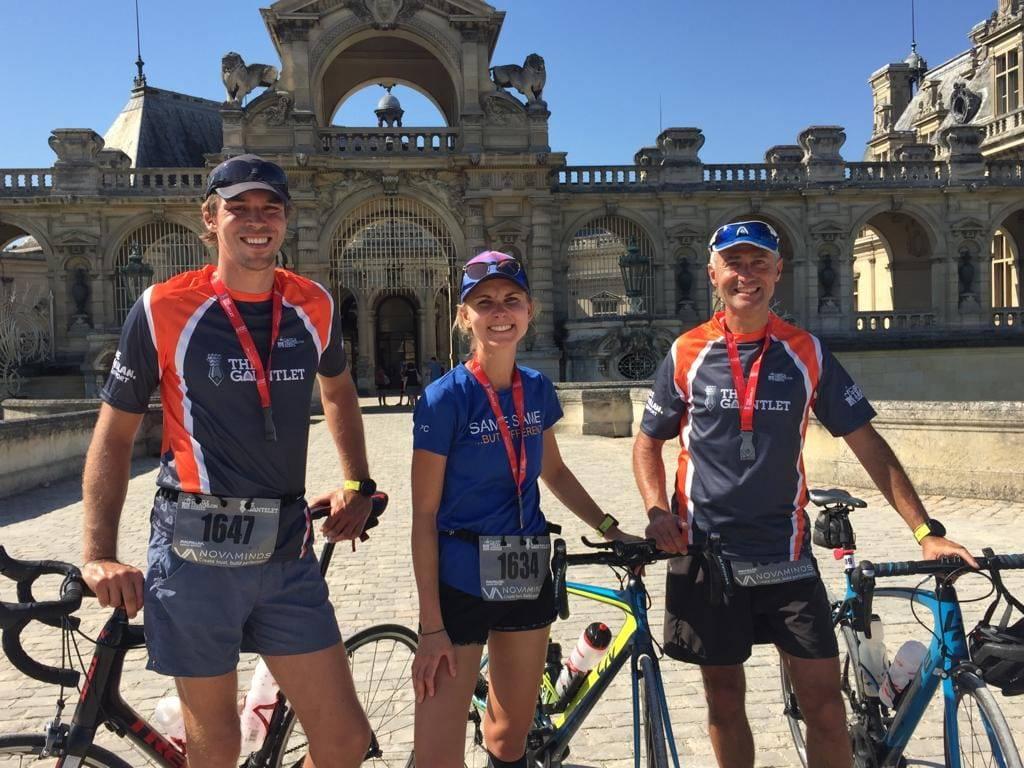 Gantelet - Triathlon Half Ironman à Chantilly