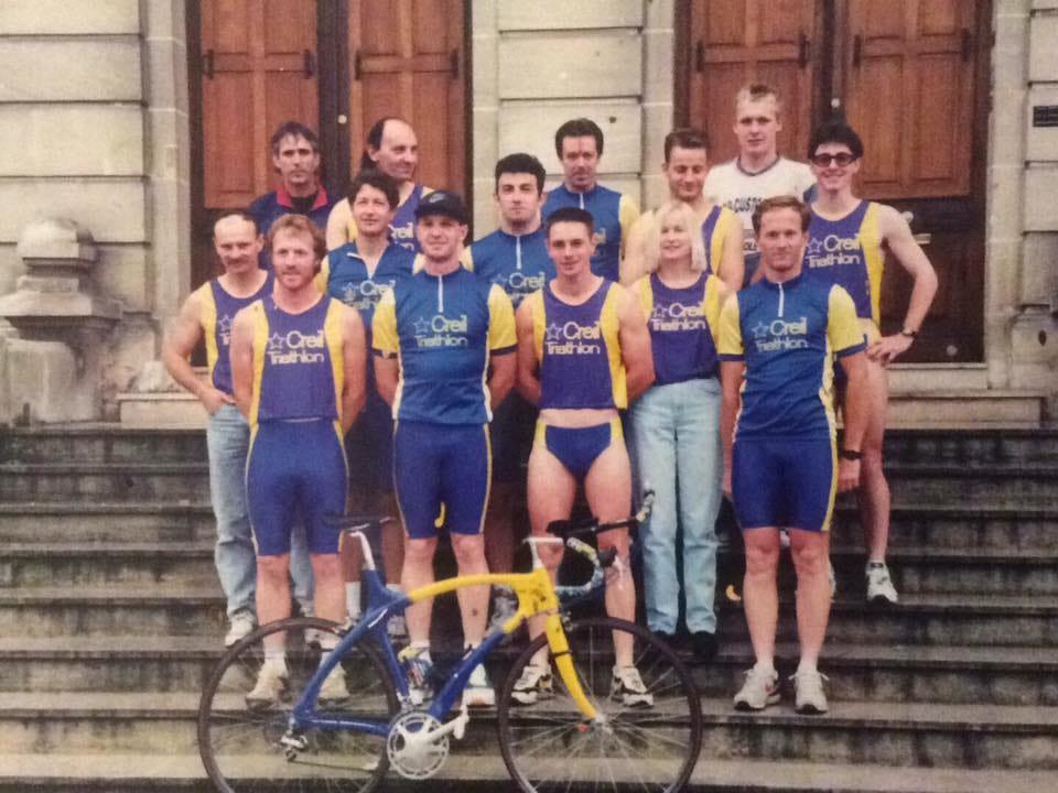 Photo de l' Astre Creillois Triathlon en 1994