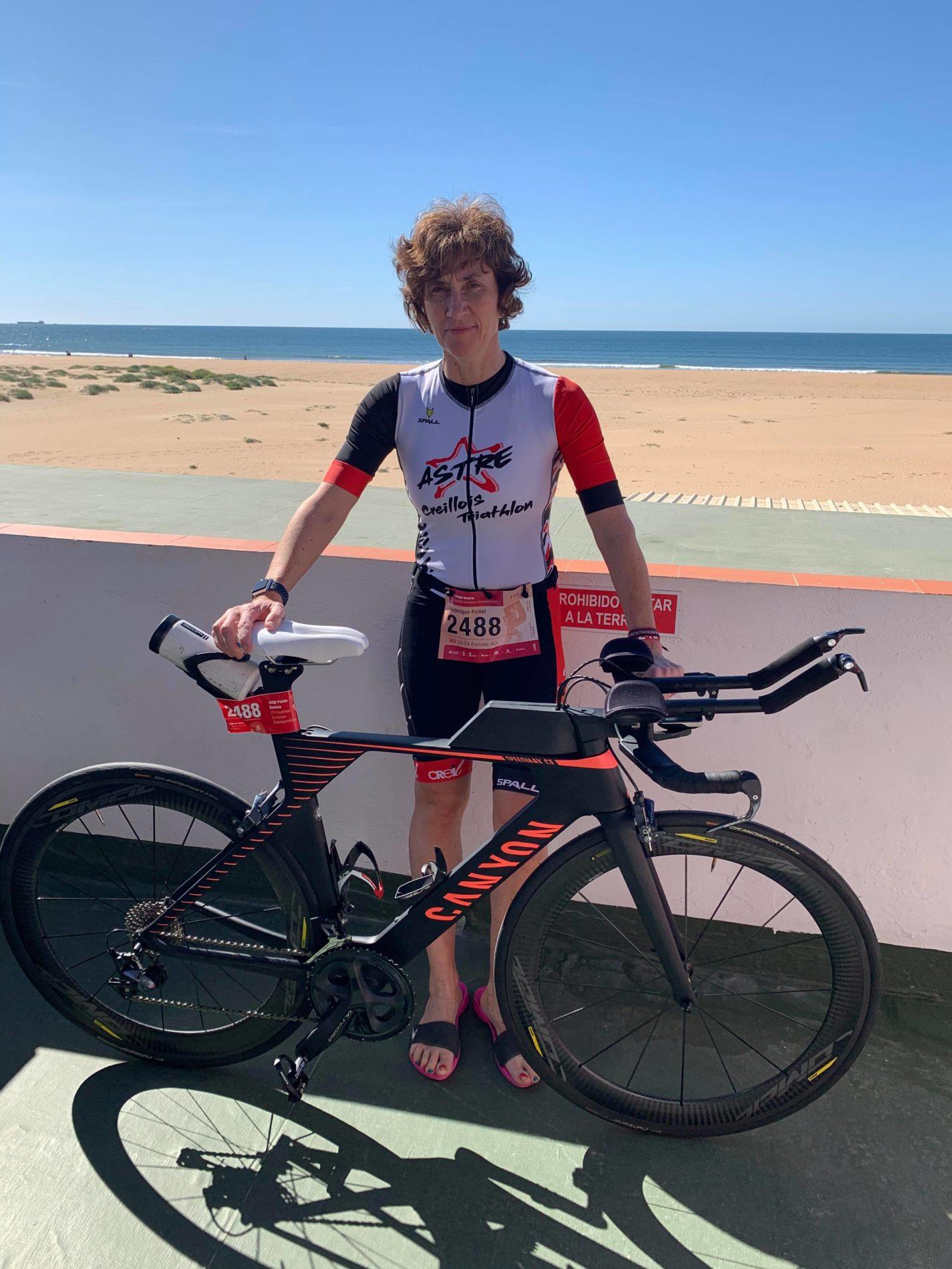 Frédérique P. de l'Astre Creillois Triathlon
