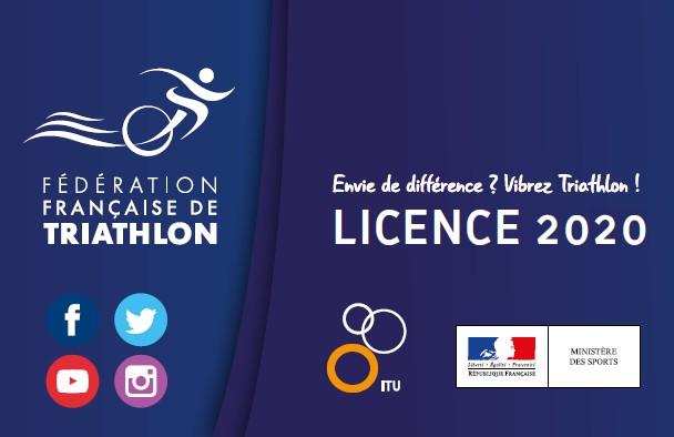 Licence de triathlon 2020