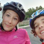 Le triathlon en famille